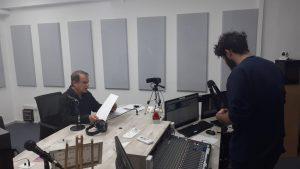 מיקיי גולדנברג והטכנאי סביון ששון צילום תבח